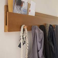 muir wall coat rack by amenity apartment therapy