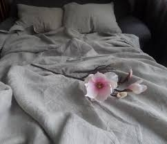 super soft linen duvet covertwo pillowcases without chemical