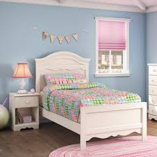 summer breeze bedroom set south shore summer breeze 39 twin panel bed in distressed white