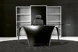 modern italian office desk luna office desk by paolo pininfarina for uffix made in italy