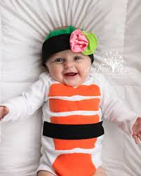 Newborn Infant Halloween Costumes Sushi Costume Sushi Baby Halloween Costume Headband Baby