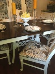 Duncan Phyfe Dining Room Set Duncan Phyfe Old Table And Chairs Redo For The Home Pinterest