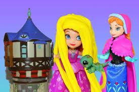 play doh sofia rapunzel disney frozen princess anna