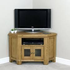 tv stand small oak corner tv stand uk wonderful sauder