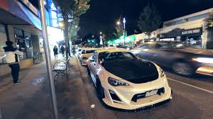 frs car black night running with 3 widebody frs u0027 youtube