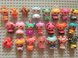 free shipping 20pcs lot mini lalaloopsy mini doll ornaments bulk