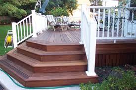 diy staining hardwood decks extreme how to