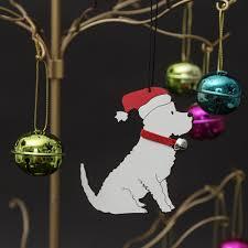 westie tree decoration west highland terrier baubles