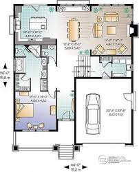 Two Level Floor Plans House Plan W3441 Detail From Drummondhouseplans Com