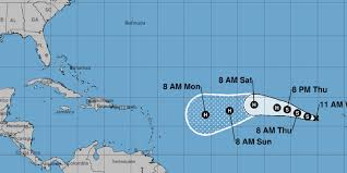 Map Of Eastern Caribbean Islands by Tropical Storm Irma Forms On Heels Of Hurricane Harvey