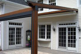 Retractable Waterproof Awnings Private Residence Northern Nj Gennius Retractable Pergola