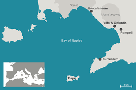 Pompeii Map How Ancient Rome U0027s 1 Hijacked The Beach Hakai Magazine