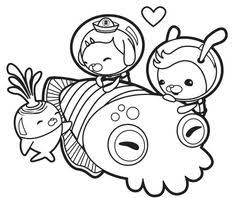 Coloring Pages To Print Octonauts Octonauts Coloring Pages Octonauts Coloring Pages