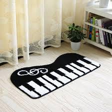 teppich k che klaviertastatur teppich größe 45 80 50 120 cm fußmatte wohnzimmer