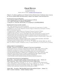 Example Resume For Maintenance Technician by Sample Resume General Maintenance Technician Templates