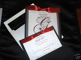 Black Wedding Invitations Red And Black Wedding Invitations Orionjurinform Com