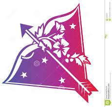 sagittarius zodiac sign stock illustration illustration of