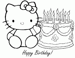 birthday coloring pages printable coloring home