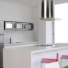 kitchen island extractor hoods island range with built in lighting original design la