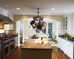 Hanging Pot Rack In Cabinet by Hanging Pot Rack Houzz