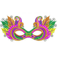 where can i buy mardi gras masks gras mask with fancy feathers and ornaments filled machine