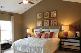 Dark Accent Wall In Small Bedroom Accent Wall Ideas For Small Bedroom Dark Brown Patterned Long
