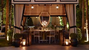 santa monica cast private dining viceroy santa monica