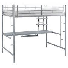 loft bed with slide target
