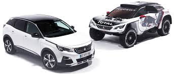 peugeot 3008 white 2017 peugeot 3008 dkr to lead 2017 dakar rally campaign image 548675