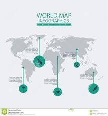 Vector World Map Vector World Map Animal Stock Vector Image 50095696