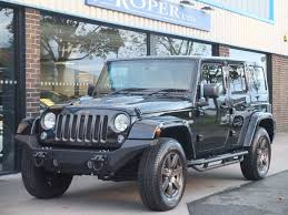 bronze wheels jeep used jeep wrangler 3 6 v6 75th anniversary 4 door 280ps auto for