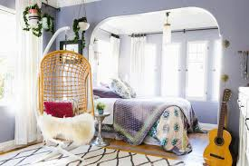 Hanging Bedroom Chair 20 Stylish Bedroom Hanging Chairs Design Ideas Pictures