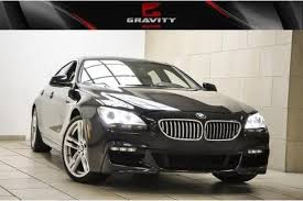 used bmw 650i coupe used bmw 6 series gran coupe for sale in atlanta ga edmunds