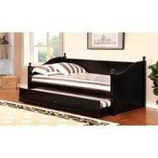 Black Daybed With Trundle Trundle Daybeds