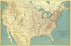 anerica map united states of america map