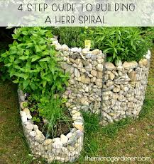 Easy Herbs To Grow Inside 4 Step Guide To Building A Herb Spiral The Micro Gardener