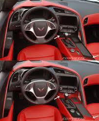 Custom Corvette Interior C7 Corvette Stingray Z06 Grand Sport 2014 Custom Painted Hydro