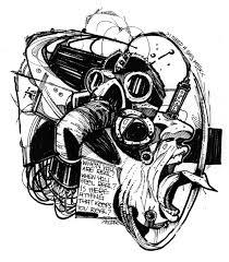 gas mask by mastaofdapit on deviantart