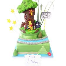 winnie the pooh cakes winnie the pooh cake luxury cakes the brilliant bakers