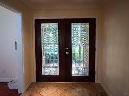 gorgeous double glass entry doors modern front double door designs