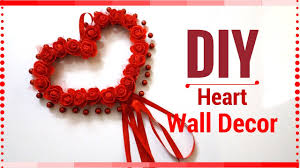 diy wall decor valentines u0027s day ideas heart decorations for