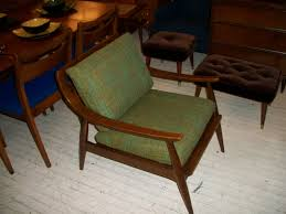 Mid Century Chairs Uk An Orange Moon Walnut Mid Century Modern Danish Lounge Chair