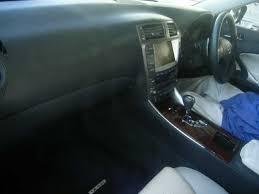 japanese lexus is250 2008 lexus is250 elegant white interior japanese used cars