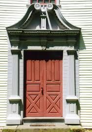 Exterior Door Pediment And Pilasters Decorative Front Doors A Look At Entryway Architecture