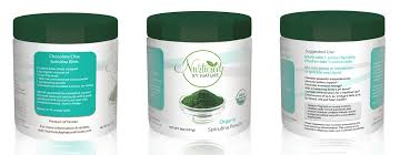organic spirulina powder nurtured by nature