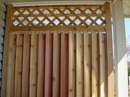 Patio Wind Screens by Deck Privacy Screen Ideas Exterior Solar Shades Oasis Series