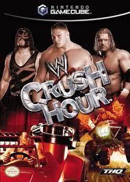 wwe games wwe crush hour gamecube amazon co uk pc u0026 video games