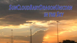 Unicorn Cloud by Baby Dragon Unicorn Made Of Clouds Youtube