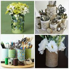 Tin Can Table Decorations 10 Diy Home Storage Ideas Hirerush Blog