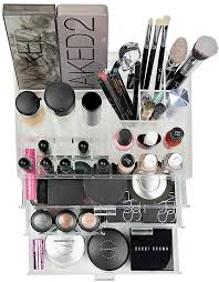 amazon com organizta chic box u2013 acrylic makeup organizer
